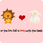 Lion and Lamb - In love