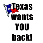 Texas Wants You Back T-shirts Gifts