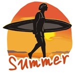 Men of Summer Surf T-shirts, Hoodies & Apparel