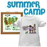Summer Camp T-shirts & Camping Gear
