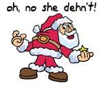 Attitude Santa T-shirts, Tees