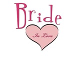 bride in love shirts