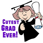 Girl Graduate T-shirts and Gifts