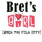 Bret's Girl T-shirts, Bret Tees