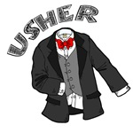 Wedding Usher T-shirts and Gifts