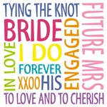 bride words t-shirts