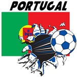 Portugal Soccer T-shirts, Merch, Fan Gear