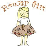 autumn flower girl favors