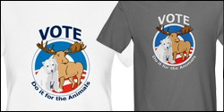 Vote Do it for the Animals