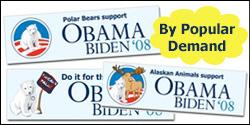 Alaskan Animals Bumper Stickers