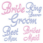 Amore Bridal Party Theme T-Shirts