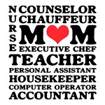 Mom's Jobs Mother's Day T-Shirts & Gifts