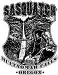 Sasquatch | Multnomah Falls