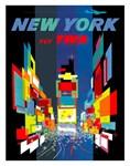 TWA AirTravel to New York