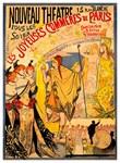 Nouveau Theatre Rare Vintage Advertising Print
