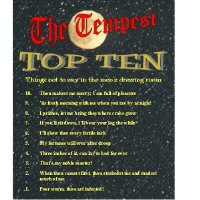 The Tempest Top Ten