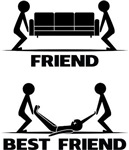 Friend VS Best Friend