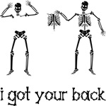 I got your back, Skeleton version