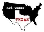 Texas / Not Texas