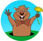 Cartoon Groundhog