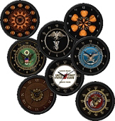<b>Assorted Unique Wall Clocks</b>