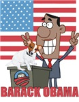 Barack Obama and Jack Russell Terrier 2012