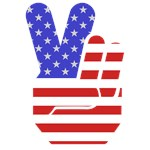 Peace Sign USA