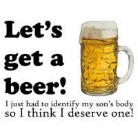 Let's Get A Beer