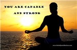 You Are Capable and Strong Affirmation Products