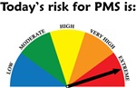 Today's Risk for PMS is: