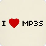 I Love Mp3s T-Shirt