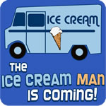 The Ice Cream Man Is Coming T-Shirt