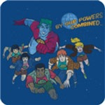 Captain Planet By Our Powers Combined T-Shirt