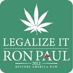 Legalize It Ron Paul 2012 T-Shirt