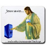 Jesus saves... and makes incremental backups