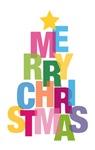 Letter Christmas Tree