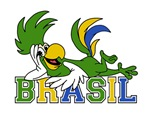 World Cup Soccer 2014 Parrot Brazil