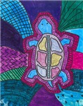 Folk Art Turtle