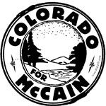 Colorado for McCain (Black)