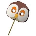 Owl Face Mask