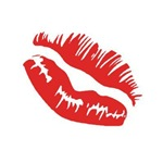 Kissing Red Lips