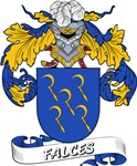 Falces Coat of Arms, Family Crest