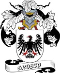 Grosso Coat of Arms, Family Crest