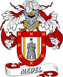 Medel Coat of Arms, Family Crest