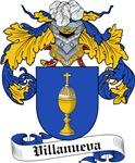 Villanueva Coat of Arms, Family Crest