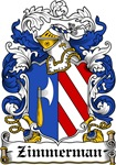 Zimmerman Coat of Arms, Family Crest