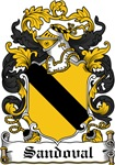 Sandoval Coat of Arms, Family Crest