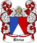 Breza Coat of Arms, Family Crest