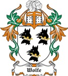 Wolfe Coat of Arms, Family Crest