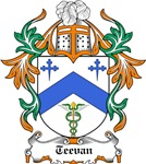 Teevan Coat of Arms, Family Crest